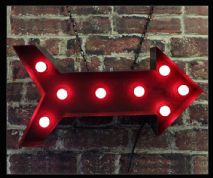 Arrow Bulb Sign
